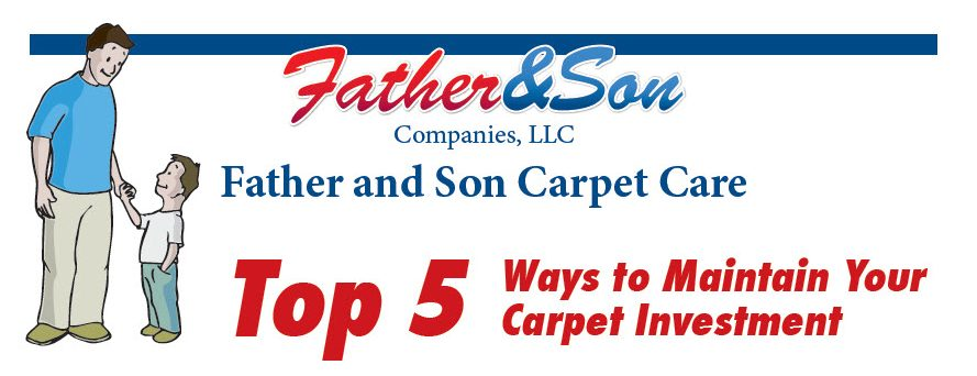 Top 5 Ways to Maintain Your Carpet Investment